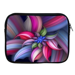 Flower Rotation Form  Apple Ipad 2/3/4 Zipper Cases by amphoto