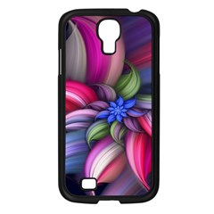 Flower Rotation Form  Samsung Galaxy S4 I9500/ I9505 Case (black) by amphoto