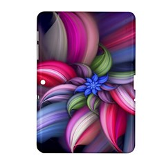 Flower Rotation Form  Samsung Galaxy Tab 2 (10 1 ) P5100 Hardshell Case  by amphoto