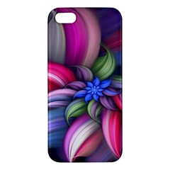 Flower Rotation Form  Iphone 5s/ Se Premium Hardshell Case by amphoto