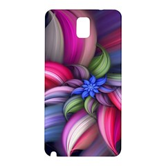 Flower Rotation Form  Samsung Galaxy Note 3 N9005 Hardshell Back Case by amphoto