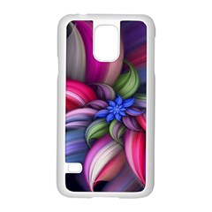 Flower Rotation Form  Samsung Galaxy S5 Case (white) by amphoto