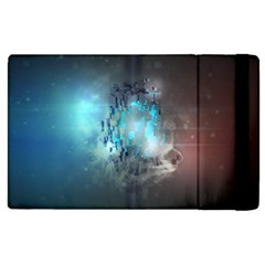 Something Light Abstraction  Apple Ipad 3/4 Flip Case by amphoto