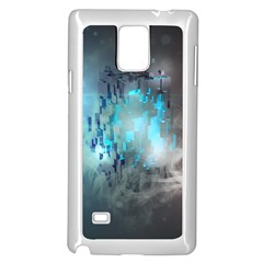 Something Light Abstraction  Samsung Galaxy Note 4 Case (white) by amphoto