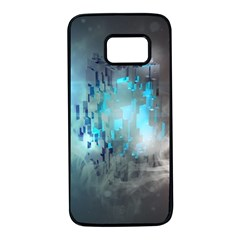 Something Light Abstraction  Samsung Galaxy S7 Black Seamless Case by amphoto
