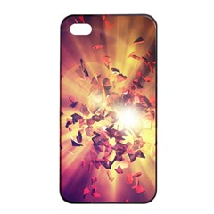 Shards Explosion Energy  Apple Iphone 4/4s Seamless Case (black) by amphoto