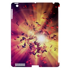 Shards Explosion Energy  Apple Ipad 3/4 Hardshell Case (compatible With Smart Cover) by amphoto