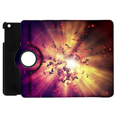 Shards Explosion Energy  Apple Ipad Mini Flip 360 Case by amphoto