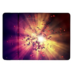 Shards Explosion Energy  Samsung Galaxy Tab 8 9  P7300 Flip Case by amphoto