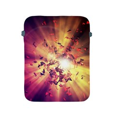 Shards Explosion Energy  Apple Ipad 2/3/4 Protective Soft Cases by amphoto
