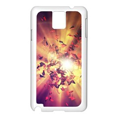 Shards Explosion Energy  Samsung Galaxy Note 3 N9005 Case (white) by amphoto
