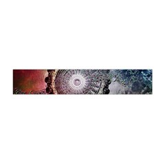Circle Figures Background  Flano Scarf (mini) by amphoto
