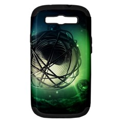 Balloon Art Scope Samsung Galaxy S Iii Hardshell Case (pc+silicone) by amphoto