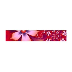 2480 Flowers Petals Red 3840x2400 Flano Scarf (mini)