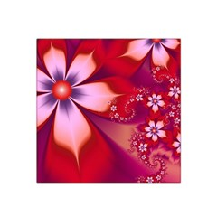 2480 Flowers Petals Red 3840x2400 Satin Bandana Scarf by amphoto
