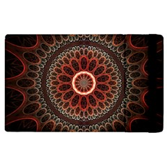 2240 Circles Patterns Backgrounds 3840x2400 Apple Ipad 2 Flip Case by amphoto