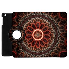 2240 Circles Patterns Backgrounds 3840x2400 Apple Ipad Mini Flip 360 Case by amphoto