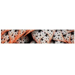 Dots Leaves Background  Flano Scarf (large) by amphoto