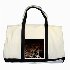 Patterns Surface Shape Two Tone Tote Bag by amphoto