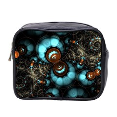 Spiral Background Form 3840x2400 Mini Toiletries Bag 2 Side by amphoto
