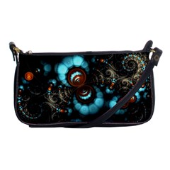 Spiral Background Form 3840x2400 Shoulder Clutch Bags by amphoto