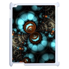 Spiral Background Form 3840x2400 Apple Ipad 2 Case (white) by amphoto