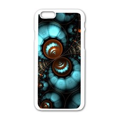 Spiral Background Form 3840x2400 Apple Iphone 6/6s White Enamel Case by amphoto