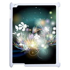 Abstraction Color Pattern 3840x2400 Apple Ipad 2 Case (white) by amphoto