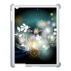 Abstraction Color Pattern 3840x2400 Apple Ipad 3/4 Case (white) by amphoto