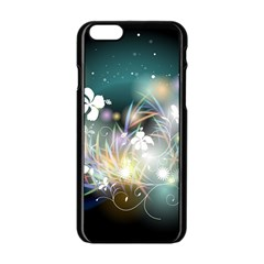 Abstraction Color Pattern 3840x2400 Apple Iphone 6/6s Black Enamel Case by amphoto
