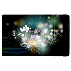 Abstraction Color Pattern 3840x2400 Apple Ipad Pro 9 7   Flip Case by amphoto