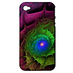 Immersion Light Color  Apple Iphone 4/4s Hardshell Case (pc+silicone) by amphoto
