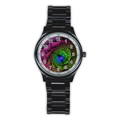 Immersion Light Color  Stainless Steel Round Watch by amphoto