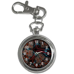 Surface Grid Lines  Key Chain Watches by amphoto