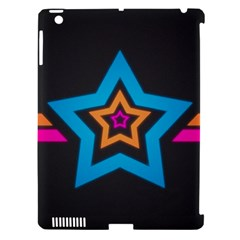 Star Background Colorful  Apple Ipad 3/4 Hardshell Case (compatible With Smart Cover) by amphoto