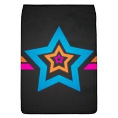 Star Background Colorful  Flap Covers (l)  by amphoto
