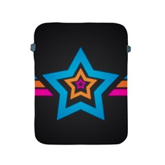 Star Background Colorful  Apple Ipad 2/3/4 Protective Soft Cases by amphoto