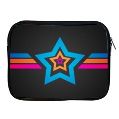 Star Background Colorful  Apple Ipad 2/3/4 Zipper Cases by amphoto