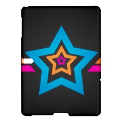 Star Background Colorful  Samsung Galaxy Tab S (10 5 ) Hardshell Case  by amphoto