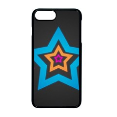 Star Background Colorful  Apple Iphone 7 Plus Seamless Case (black) by amphoto