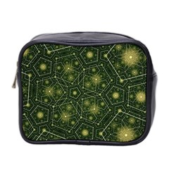 Shape Surface Patterns  Mini Toiletries Bag 2 Side by amphoto