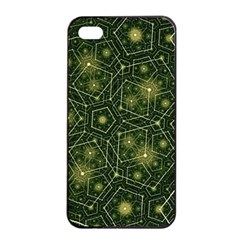 Shape Surface Patterns  Apple Iphone 4/4s Seamless Case (black) by amphoto