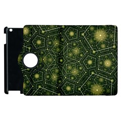 Shape Surface Patterns  Apple Ipad 3/4 Flip 360 Case by amphoto