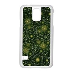 Shape Surface Patterns  Samsung Galaxy S5 Case (white) by amphoto