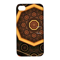 Light Surface Lines  Apple Iphone 4/4s Hardshell Case With Stand by amphoto
