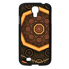 Light Surface Lines  Samsung Galaxy S4 I9500/ I9505 Case (black) by amphoto