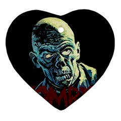 Zombie Ornament (heart)