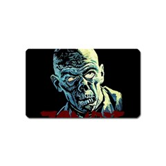 Zombie Magnet (name Card) by Valentinaart