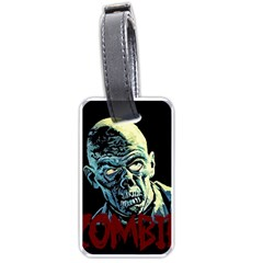 Zombie Luggage Tags (one Side)
