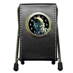 Zombie Pen Holder Desk Clocks